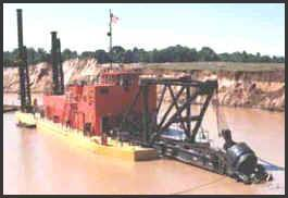 24' - 4900 HP Ellicott<sup>&reg;</sup> Dredge 'MARION'